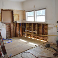 A behind the scenes look, mid-reno